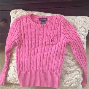 Ralph Lauren Girls Sweater